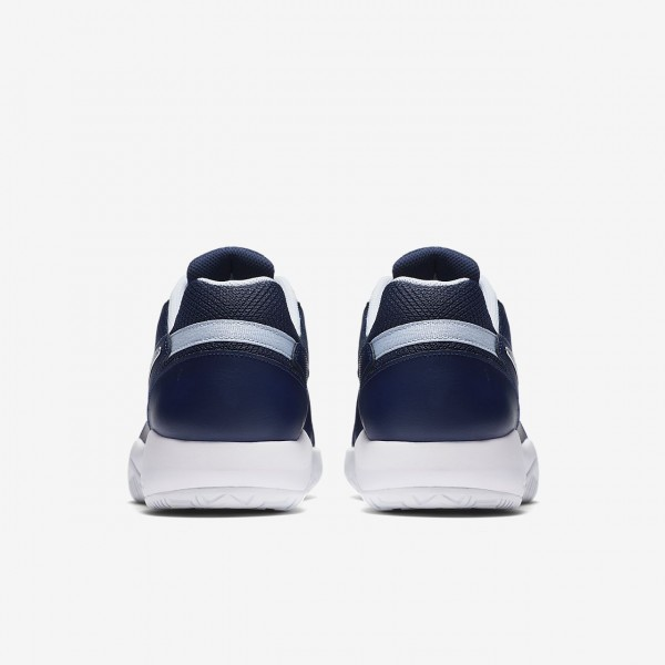 Nike Court Air Zoom Resistance Tennisschuhe Herren Navy Blau Weiß Metallic Silber 795-32388
