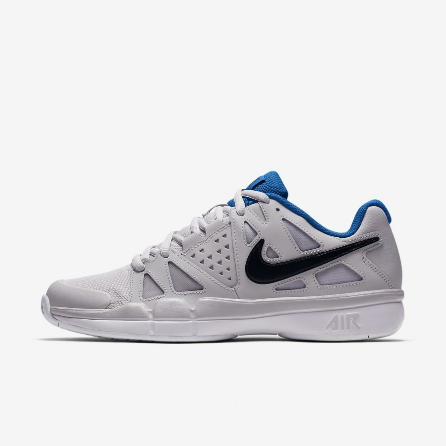 Nike Mens AIR Vapor Advantage WeissBlau Tennisschuhe 47