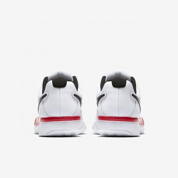 Nike Court Air Vapor Advantage Clay Tennisschuhe Herren Weiß Rot Schwarz 597-47070