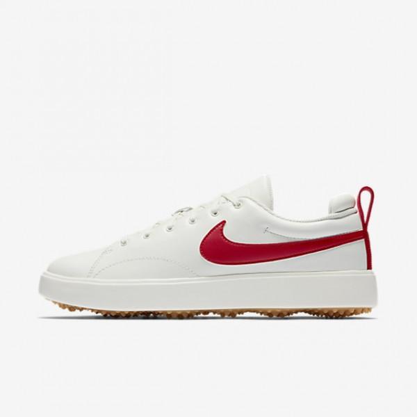 Nike Course Classic Golfschuhe Herren Weiß Gelb R...