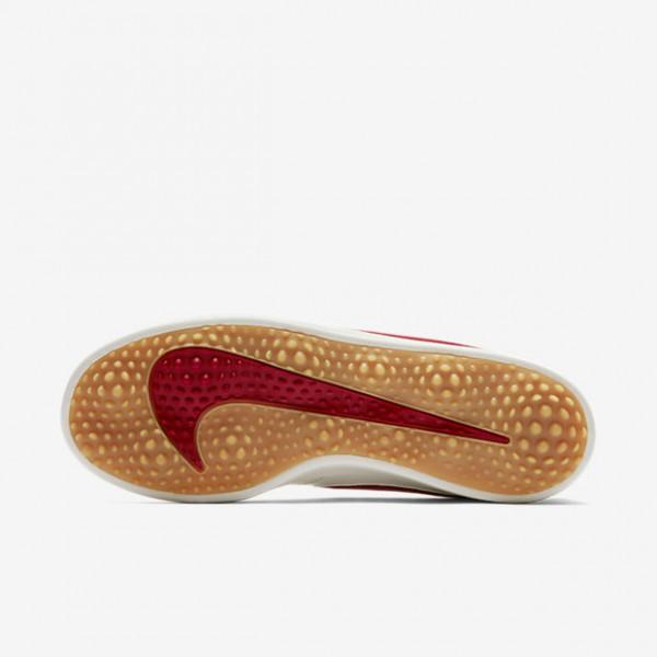 Nike Course Classic Golfschuhe Herren Weiß Gelb Rot 723-23820