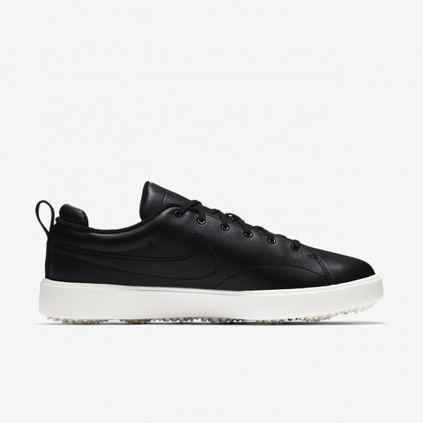 Nike Course Classic Golfschuhe Herren Schwarz Weiß 804-32218