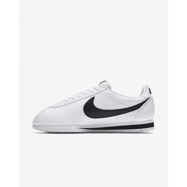 Nike Classic Cortez Freizeitschuhe Herren Weiß Schwarz 227-76000