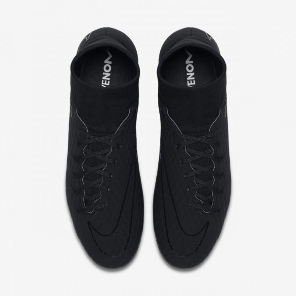 Nike Hypervenom Phelon 3 Dynamic Fit Ag-pro Fußballschuhe Damen Schwarz 713-63292