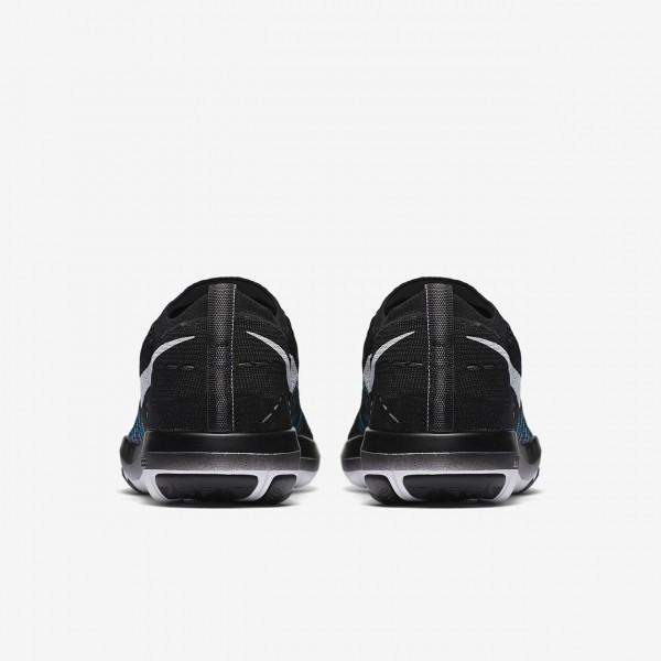 Nike Free Transform Flyknit Trainingsschuhe Damen Schwarz Grau Weiß 109-14497