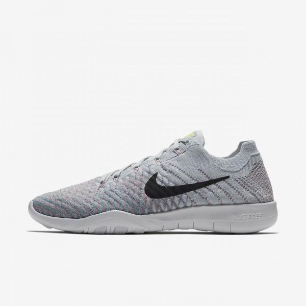 Nike Free Tr Flyknit 2 Trainingsschuhe Damen Plati...