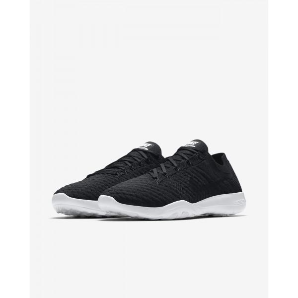 Nike Free Tr Flyknit 2 Trainingsschuhe Damen Schwarz Weiß 729-66674