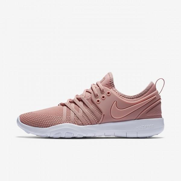 Nike Free Tr 7 Trainingsschuhe Damen Pink Weiß Ro...