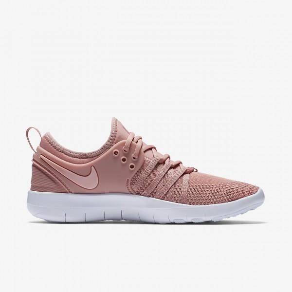 Nike Free Tr 7 Trainingsschuhe Damen Pink Weiß Rosa 920-54797