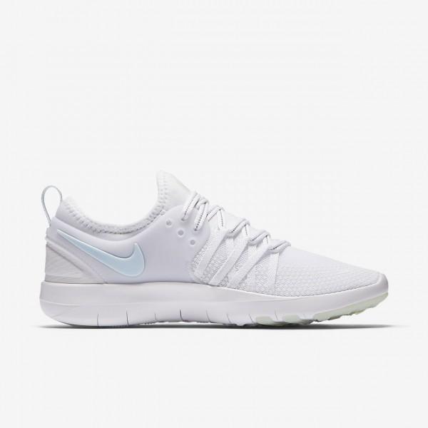 Nike Free Tr 7 Reflect Trainingsschuhe Damen Weiß Blau 409-79320