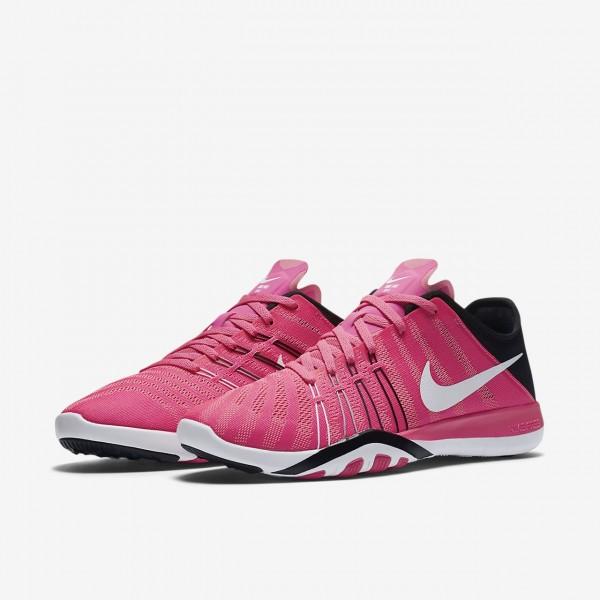 Nike Free Tr 6 Trainingsschuhe Damen Pink Schwarz Weiß 165-36853