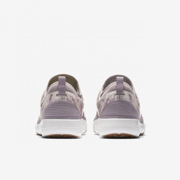 Nike Free Tr 7 Trainingsschuhe Damen Lila Weiß 989-70123