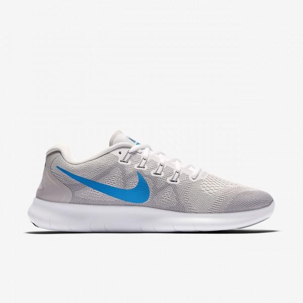 Nike Free Rn 2017 Laufschuhe Herren Grau Blau 388-52243