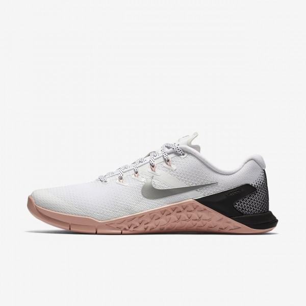 Nike Metcon 4 Trainingsschuhe Damen Weiß Pink Sch...