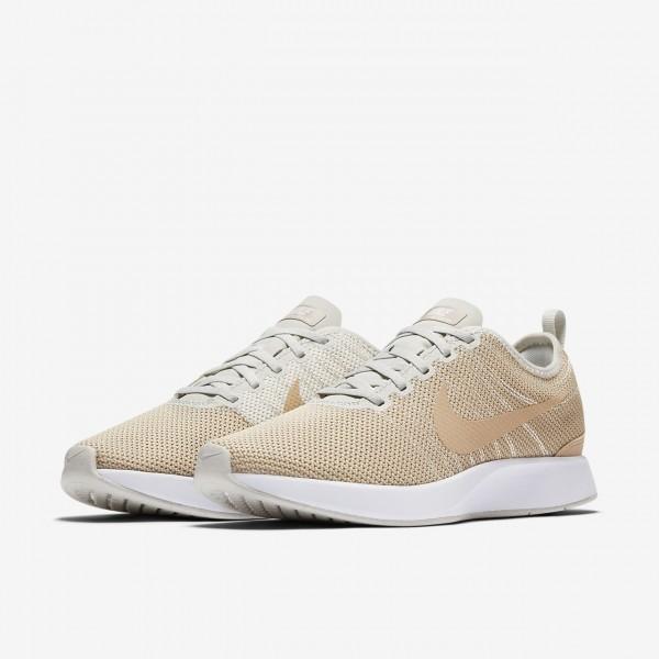 Nike Dualtone Racer Freizeitschuhe Herren Beige Weiß 923-84367