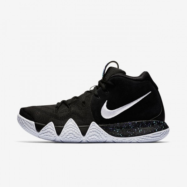 Nike Kyrie 4 Basketballschuhe Damen Schwarz Hellbl...
