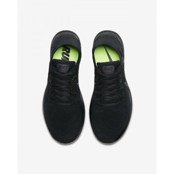 Nike Free Rn Flyknit 2017 Laufschuhe Damen Schwarz 607-62940
