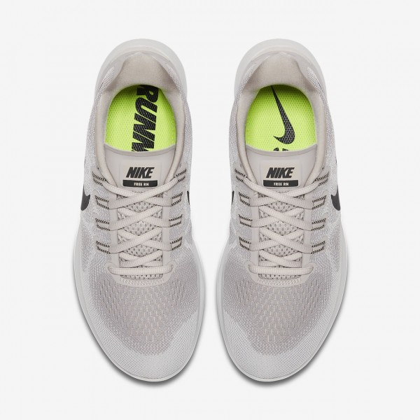 Nike Free Rn 2017 Laufschuhe Damen Weiß Grau Sand Schwarz 693-32919