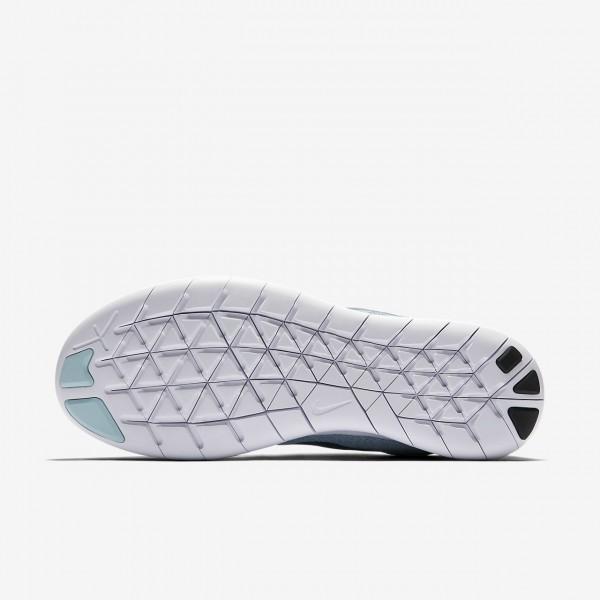 Nike Free Rn 2017 Laufschuhe Damen Blau Weiß Navy 176-32940