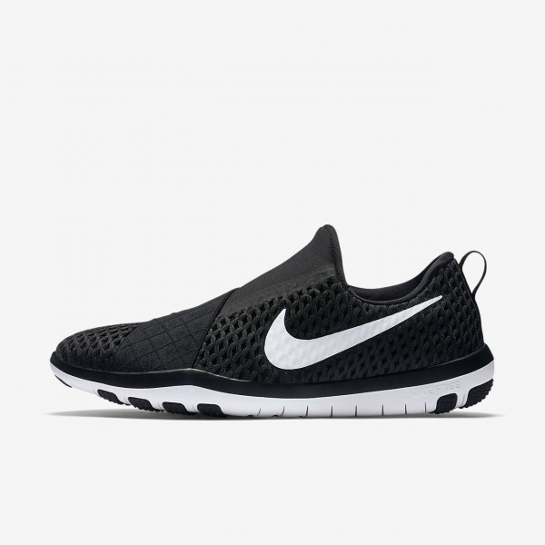 Nike Free Connect Trainingsschuhe Damen Schwarz Weiß 303-83219