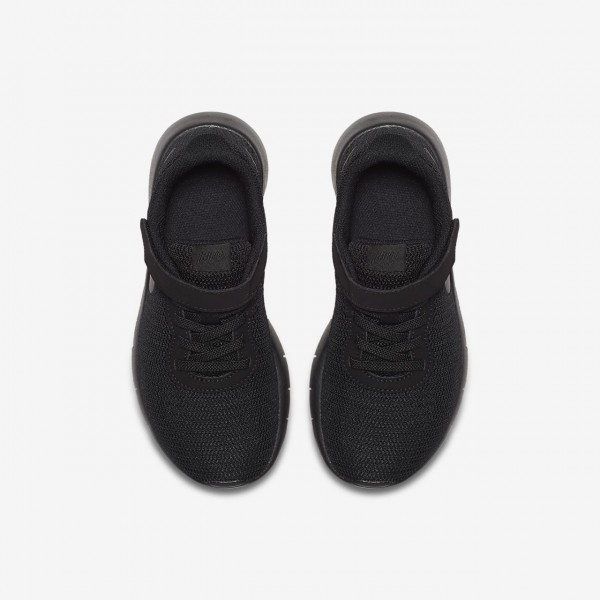 Nike Tanjun Freizeitschuhe Jungen Schwarz 314-50840