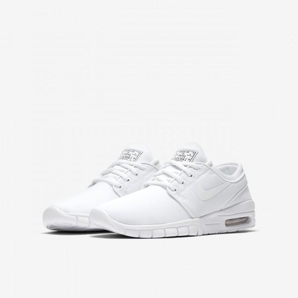 Nike Sb Stefan Janoski Max Skaterschuhe Jungen Weiß 751-55671