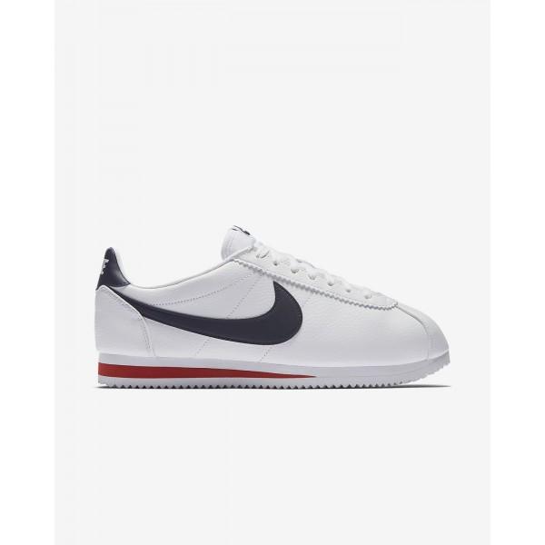 Nike Classic Cortez Freizeitschuhe Herren Weiß Ro...
