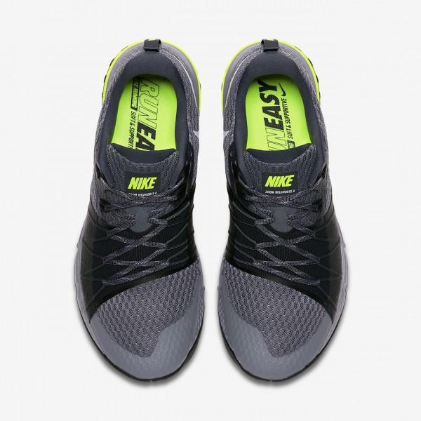 Nike Air Zoom Wildhorse 4 Laufschuhe Herren Dunkelgrau Schwarz 262-44491
