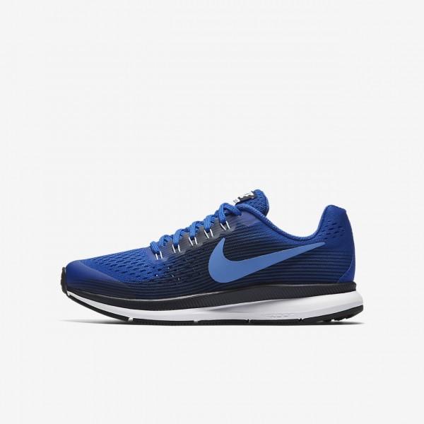 Nike Zoom Pegasus 34 Laufschuhe Jungen Königsblau...