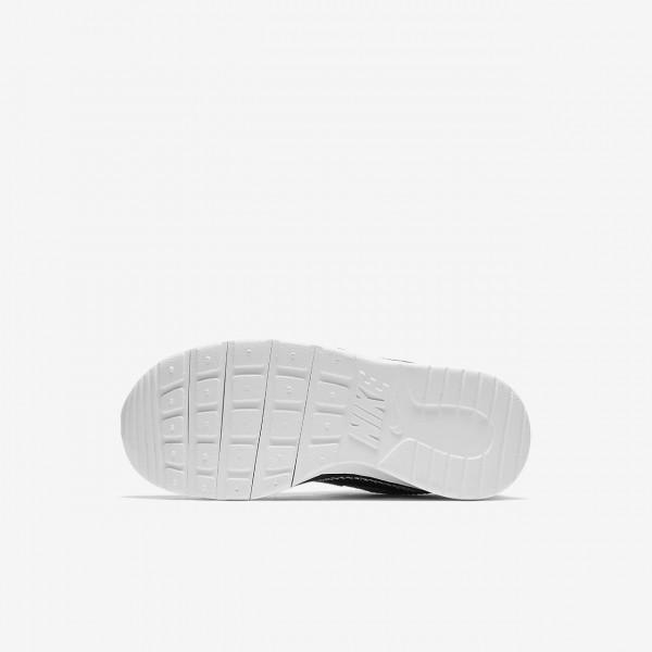 Nike Tanjun Racer Freizeitschuhe Jungen Dunkelgrau Schwarz Weiß 721-33352