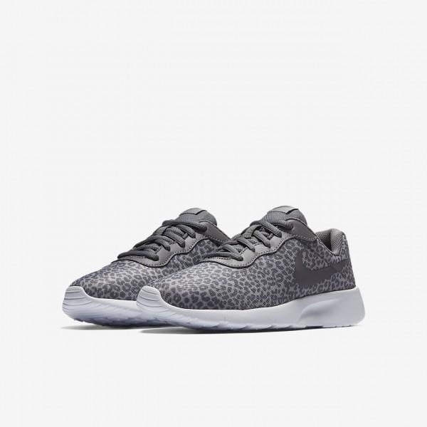Nike Tanjun Print Freizeitschuhe Jungen Weiß 566-63324