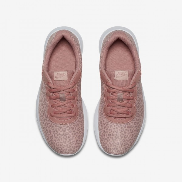 Nike Tanjun Print Freizeitschuhe Jungen Rosa Weiß Pink 548-39905
