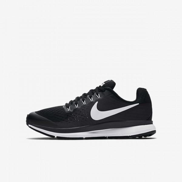 Nike Zoom Pegasus 34 Laufschuhe Jungen Schwarz Dun...