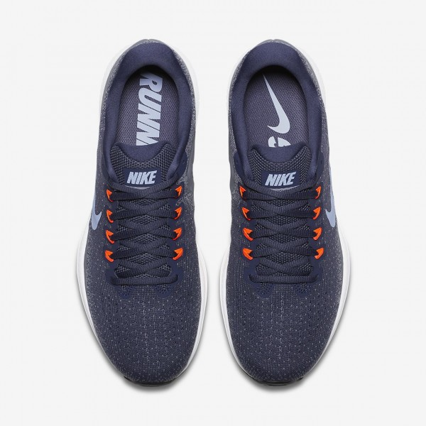 Nike Air Zoom Vomero 13 Laufschuhe Herren Blau Grau Rot 885-40385