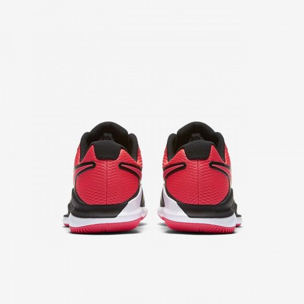 Nike Air Zoom Vapor X Tennisschuhe Herren Schwarz Weiß Rot 258-83810