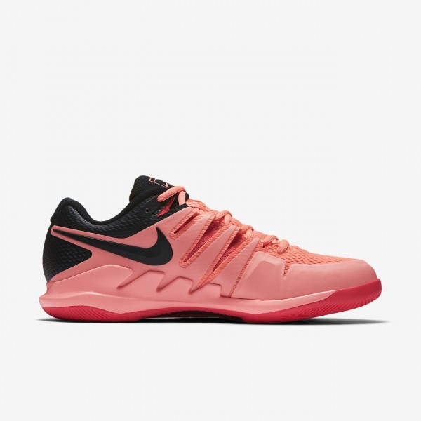 Nike Air Zoom Vapor X Tennisschuhe Herren Rosa Rot Schwarz 593-37584