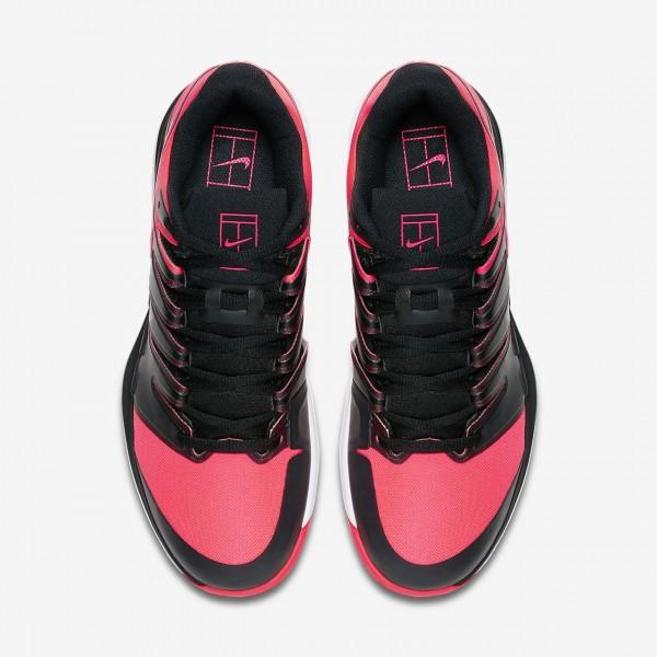 Nike Air Zoom Vapor X Clay Tennisschuhe Herren Schwarz Weiß Rot 190-71273