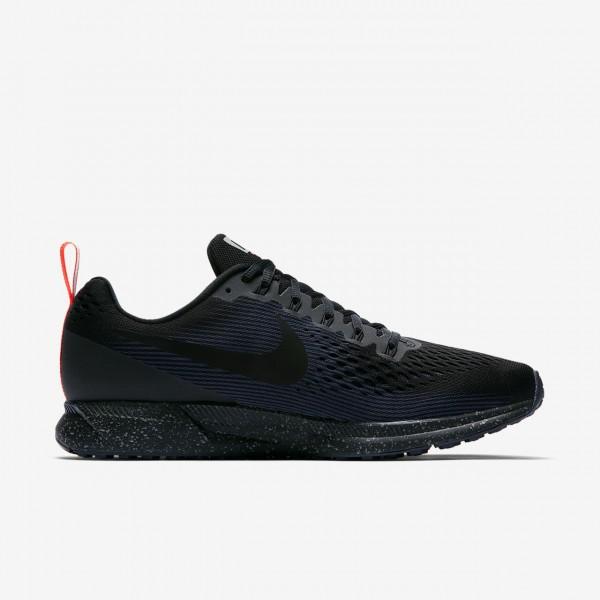 Nike Air Zoom Pegasus 34 Shield Laufschuhe Herren Schwarz Obsidian 408-23251