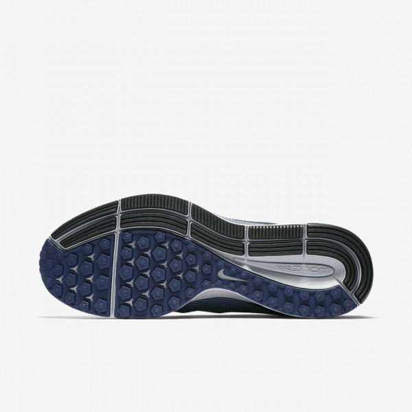 Nike Air Zoom Pegasus 34 Shield Laufschuhe Herren Blau Obsidian 256-66048