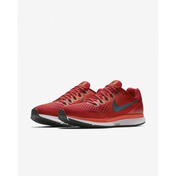 Nike Air Zoom Pegasus 34 Laufschuhe Herren Rot Dunkelrot Navy 332-80197
