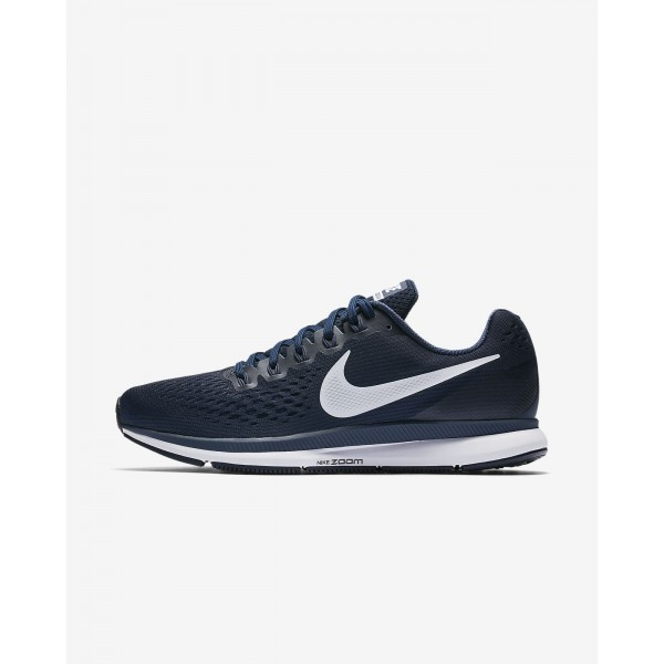 Nike Air Zoom Pegasus 34 Laufschuhe Herren Obsidian Blau Weiß 630-73094