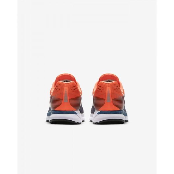 Nike Air Zoom Pegasus 34 Laufschuhe Herren Orange Blau Schwarz 879-63913