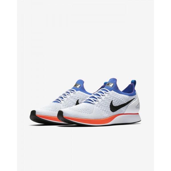 Nike Air Zoom Mariah Flyknit Racer Freizeitschuhe Herren Weiß Platin Lila Rot 393-23797