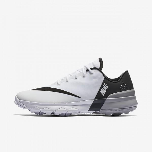 Nike Fi Flex Golfschuhe Damen Weiß Schwarz Grau 9...