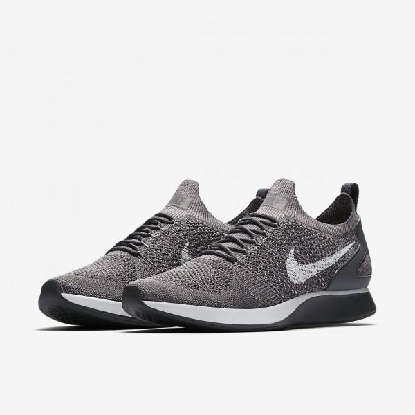 Nike Air Zoom Mariah Flyknit Racer Freizeitschuhe Herren Weiß Grau 637-58105