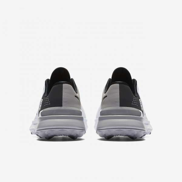Nike Fi Flex Golfschuhe Damen Weiß Schwarz Grau 992-45023