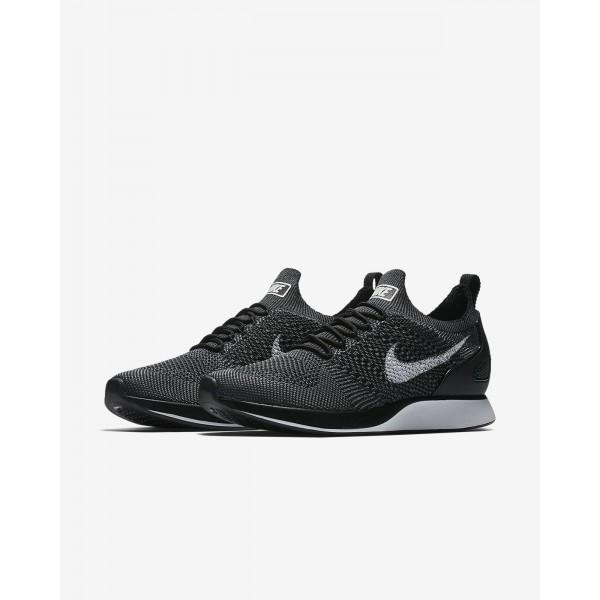 Nike Air Zoom Mariah Flyknit Racer Freizeitschuhe Herren Schwarz Dunkelgrau Weiß 965-37853