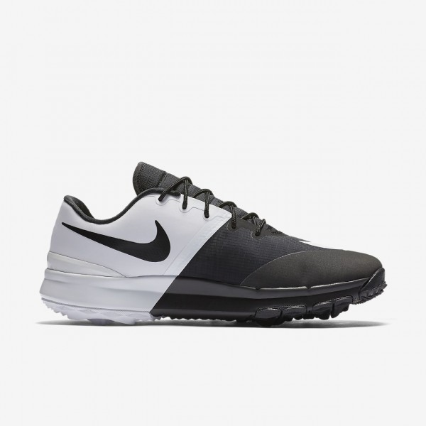 Nike Fi Flex Golfschuhe Damen Schwarz Weiß 426-61552