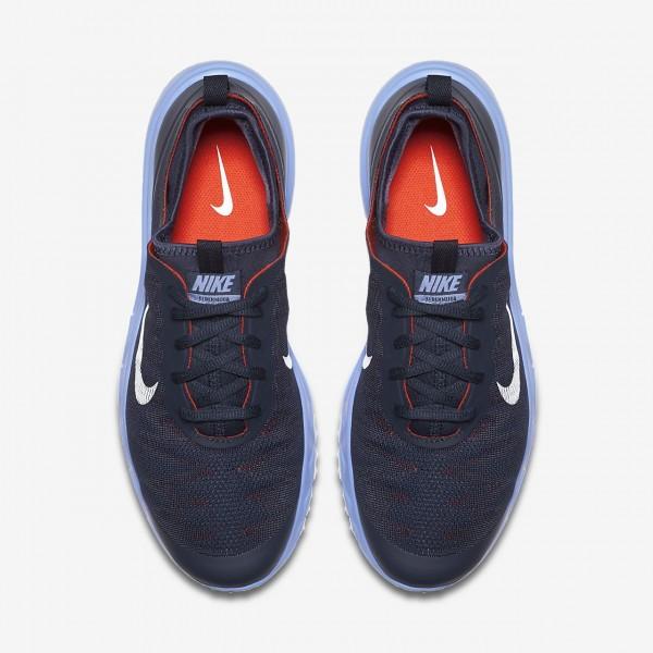 Nike Fi Bermuda Golfschuhe Damen Navy Blau Rot Weiß 236-97367