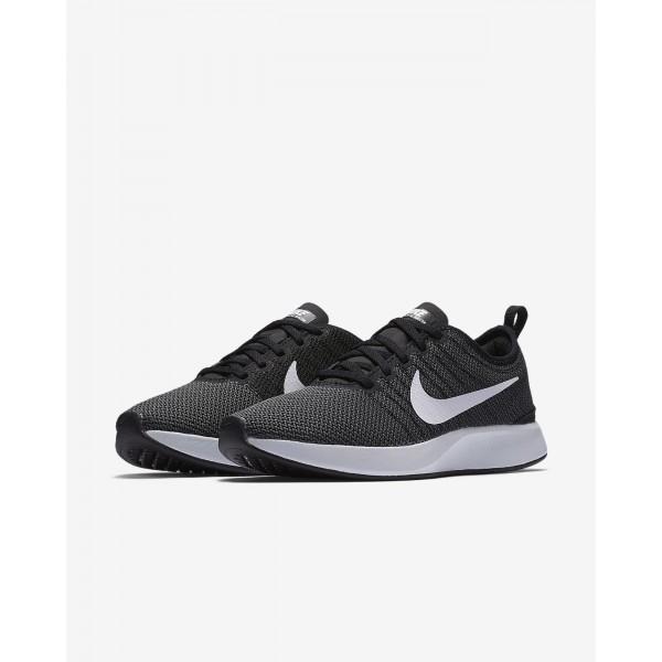 Nike Dualtone Racer Freizeitschuhe Damen Schwarz Dunkelgrau Weiß 250-55002